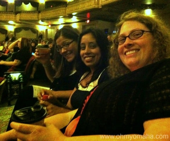 "Nothing says classy like a girls night out at the Orpheum. To catcall the lone male actor on stage. At a ""50 Shades"" parody. We're classy ladies, we are."