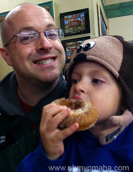 My family of four inhaled six apple donuts at Ditmar's. I' afraid to see what we would've done to a baker's dozen.