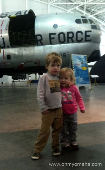 Kids love the Strategic Air & Space Museum in Nebraska.