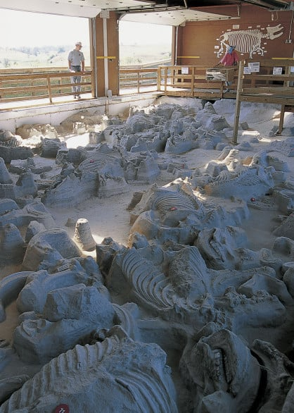 Ashall Fossil Beds in Nebraska. Photo courtesy Nebraska Tourism