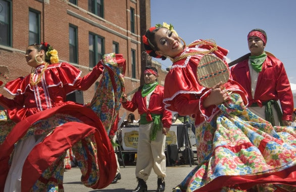 Cinco de Mayo festivities in South Omaha. Photo courtesy Nebraska Tourism