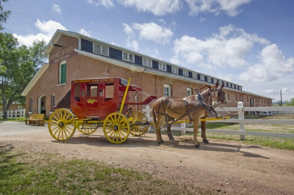 The Fort Robinson Express. Photo courtesy Nebraska Tourism