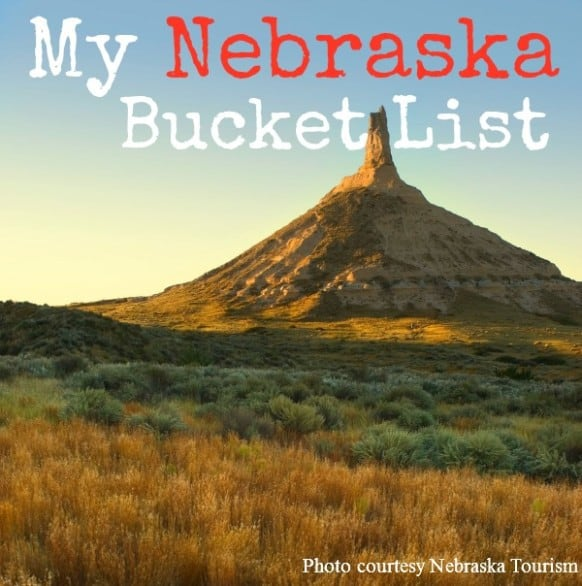 Nebraska Bucket List