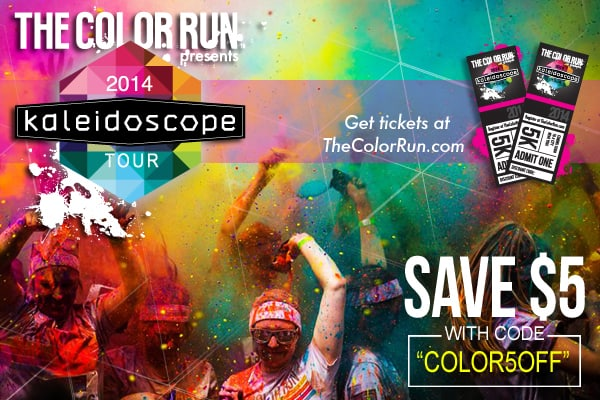 The Color Run Coupons website view The Color Run is an exciting marathon event that involves a colorful rainbow. Imagine running mile after mile surrounded by other enthusiastic marathoners, completely covered in a rainbow of beautiful (and safe) powdered colors).