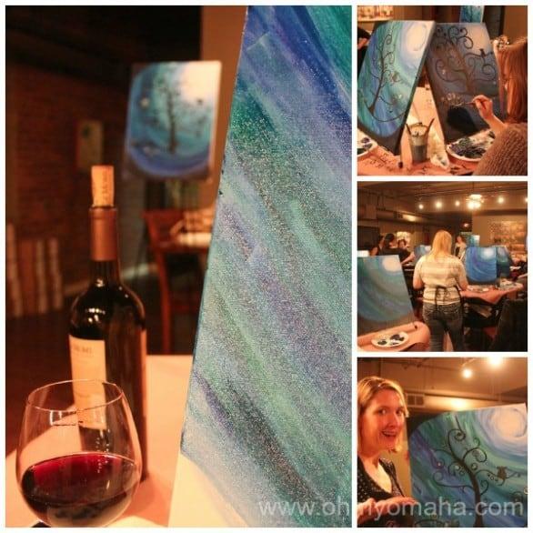 Vino Van Gogh Collage