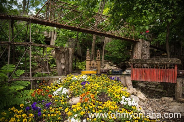 Admission is free this weekend at Lauritzen Garden. Bringing kids? Definitely plan a long visit to the train garden.