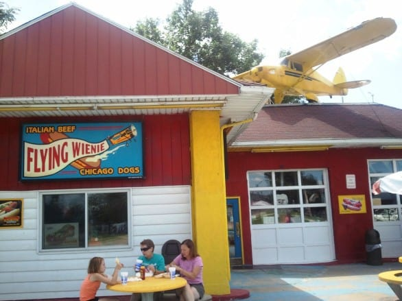 The Flying Wienie makes for a great lunch stop in Cedar Rapids. Photo courtesy Cedar Rapids Area Convention and Visitors Bureau