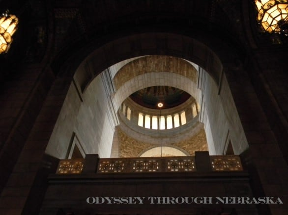 The state capitol building is the a must-visit. Photo courtesy Odyssey Through Nebraska.