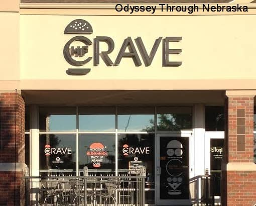 HF Crave at 2801 Pine Lake Road. Photo courtesy Odyssey Through Nebraska.