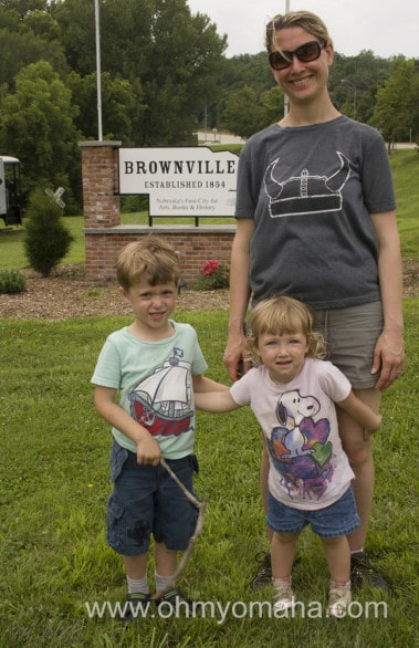 Brownville has cultivated a reputation for the arts - performing and visual - as well as a haven for book lovers.