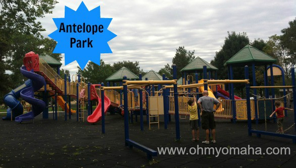Antelope Park is located near the Lincoln Children's Zoo.