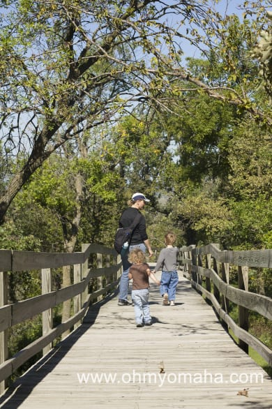 The boardwalk at Hitchcock makes nature accessible for a lot of people.