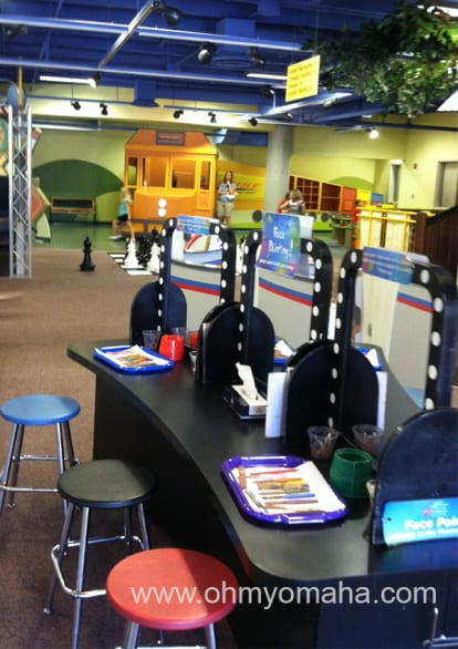 A view of the top level of the Lincoln Children's Museum.