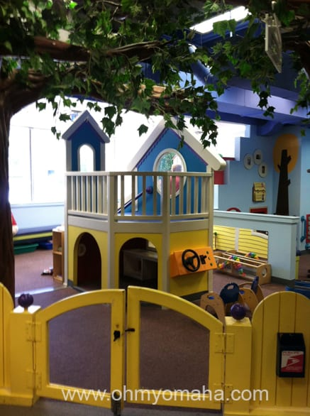 The place for the littles to play.