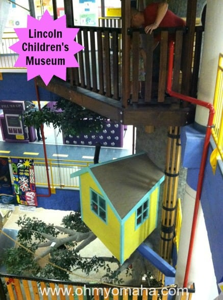 Multiple levels of fun found at the Lincoln Children's Museum. Plan on having a hard time getting your kids to leave.