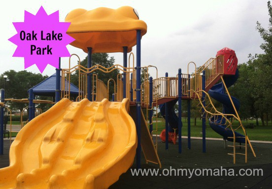Oak Lake Park is near downtown Lincoln.