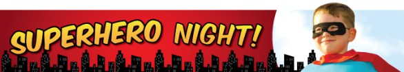 Image result for superhero night