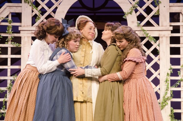 "The March women in ""Little Women"" at Omaha Community Playhouse. Photos courtesy Omaha Community Playhouse"