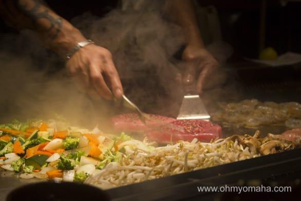 Kobe Steakhouse With Kids - OhMy!Omaha
