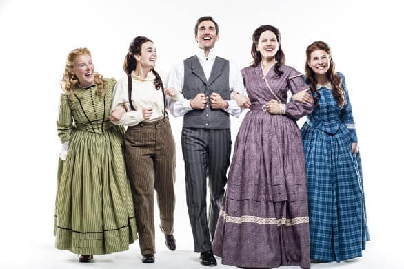 """Little Women"" is at Omaha Community Playhouse Friday through Feb. 22. Photo courtesy Omaha Community Playhouse"