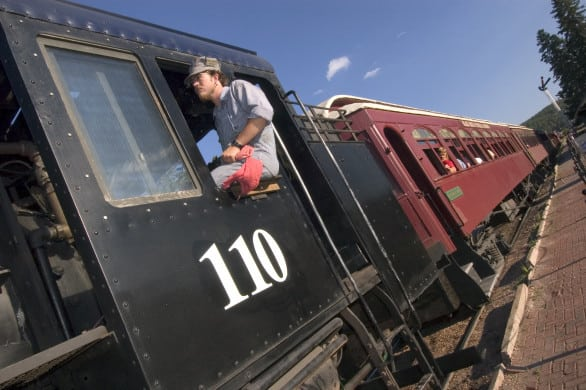 There are two rides a day on the 1880 Train. Photo courtesy South Dakota Tourism
