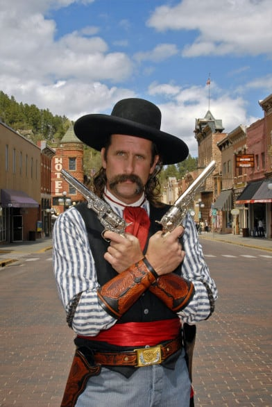 After a visit to Deadwood, South Dakota, I fully expect my two kids to want to become outlaws.