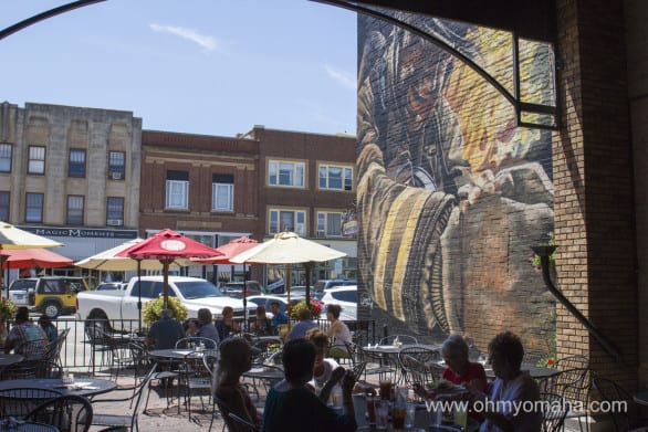I loved this outdoor space at Firehouse Brewing Co. in Rapid City.
