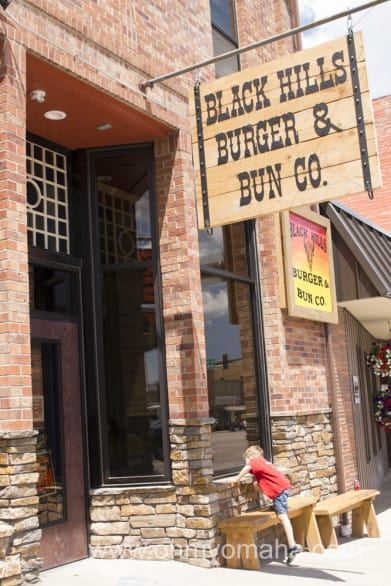 Best burger of the whole trip was had at Buffalo Burger and Bun Co. in Custer.