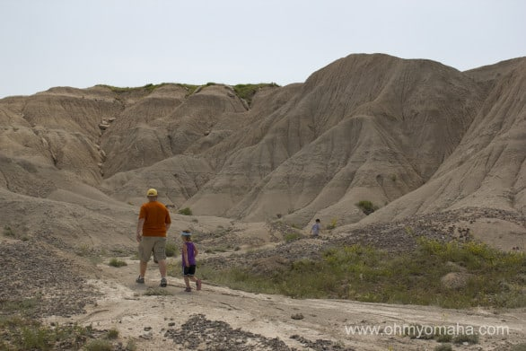 Nebraska's own Badlands, AKA Toadstool Geological Park.