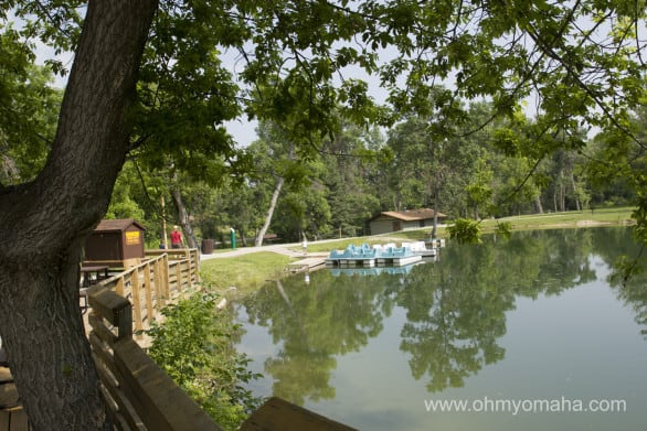 The Chadron State Park lake where you can paddleboat.. if you're into that sort of thing.