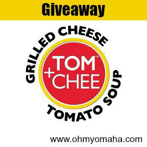 Tom-Chee logo giveaway