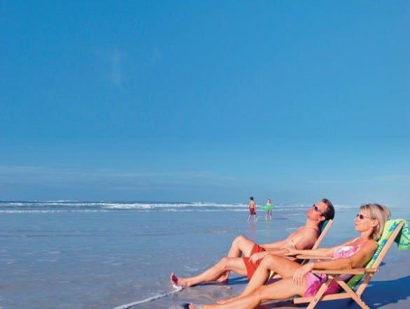 Daytona Beach is one of the closest beaches to the Orlando area. Photo courtesy Visit Florida