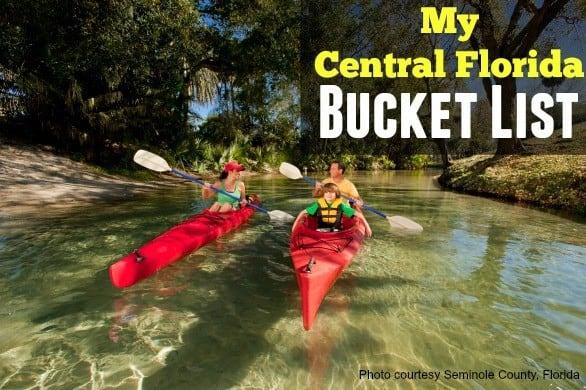 Central Florida bucket list
