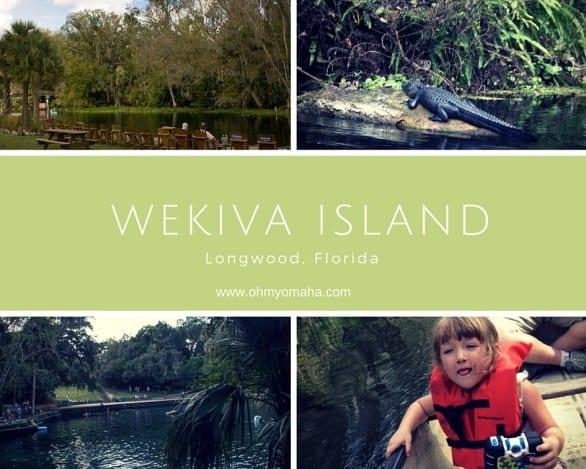 Wekiva Island collage