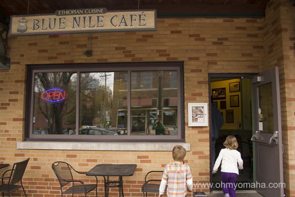 If you're an adventurous eater, try the Ethiopian restaurant Blue Nile Cafe at the City Market in Kansas City. You'll love the flavors.