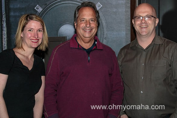 Funny. The only photo I took with my husband on the trip includes Jon Lovitz.