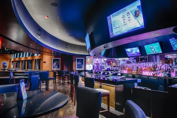 The bar at Anthem. Photo courtesy Hard Rock Hotel & Casino Sioux City