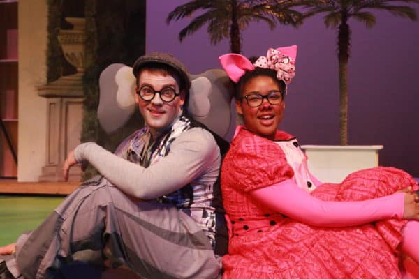 Gerald and Piggie, stars of their own play, and they don't even know it.  Photo by MBJ Photography