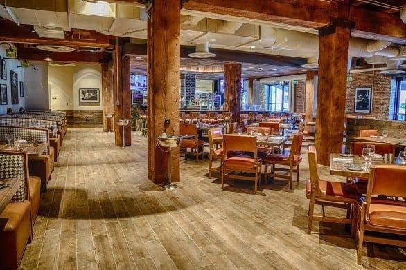The dining room at Main + Abbey. Photo courtesy Hard Rock Hotel & Casino