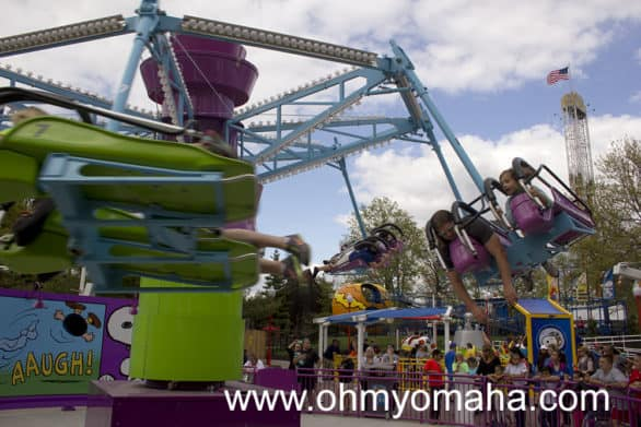 It's not your typical kiddie ride, now is it?
