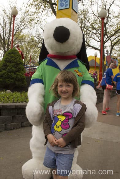Mooch and the face of Planet Snoopy.