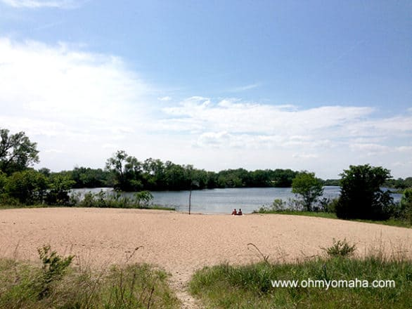 Drive around the lakes at Fremont Lakes State Recreation Area, and you might find beaches that are quieter than others.