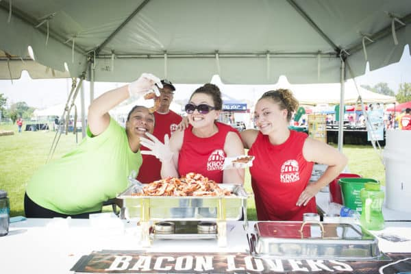 Bacon lovers love BaconFest. BaconFest is an annual fundraiser at the Kroc Center in Omaha. This year, BaconFest is on Sunday, Sept. 18.