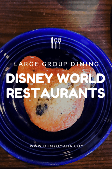 Disney Restaurants for Groups